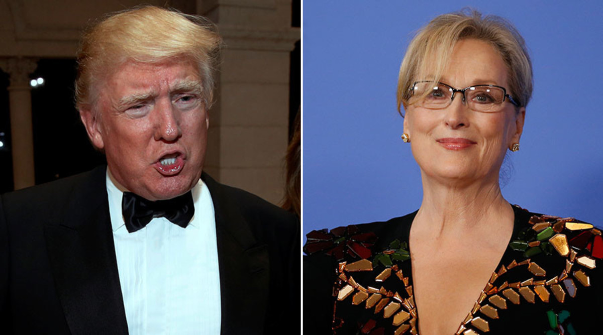 Meryl Streep has been Hollywood's most vocal opponent to Trump's administration. Given her status she is as close to royalty as most Americans can get and her feud with Trump exemplifies the question of how much power she has outside of her peers.