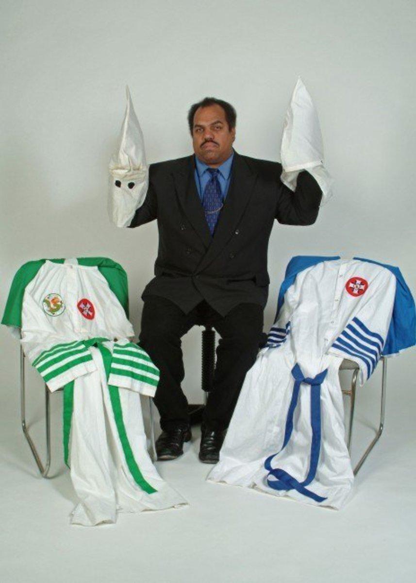 Davis and KKK outfits
