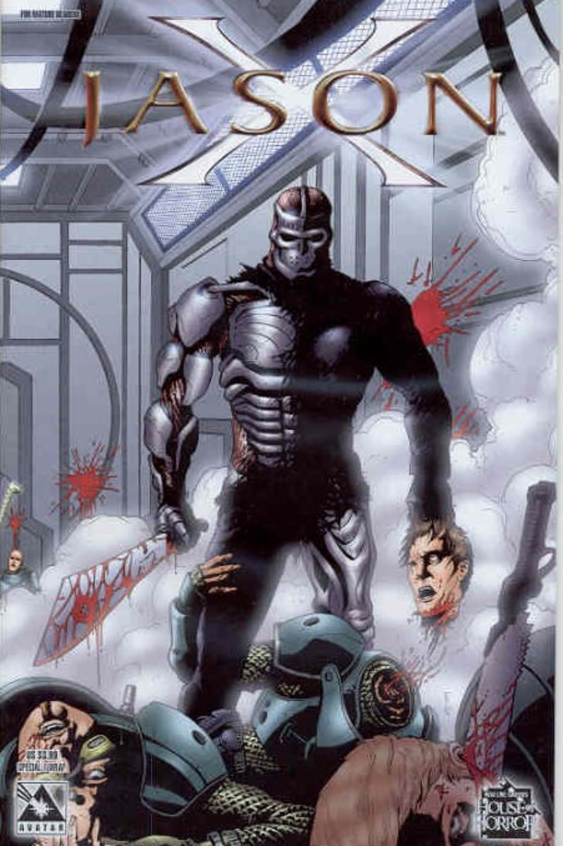 """Jason X"" comic book cover"