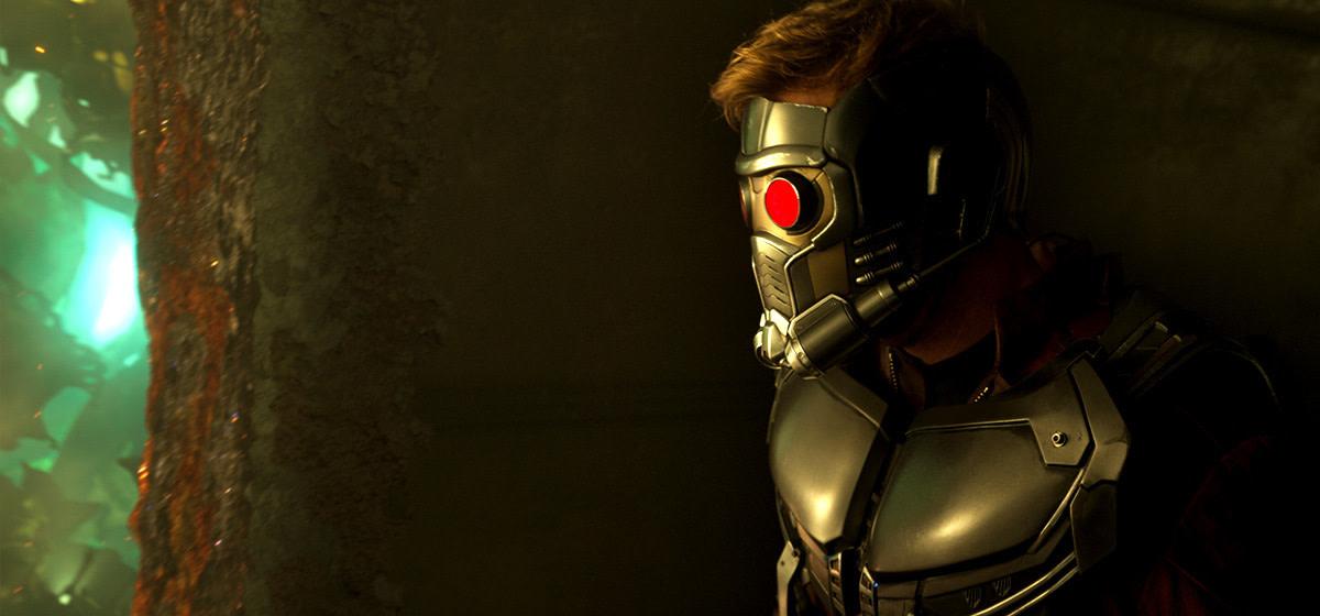"Chris Pratt as Star-Lord in ""Guardians of the Galaxy Vol. 2."""