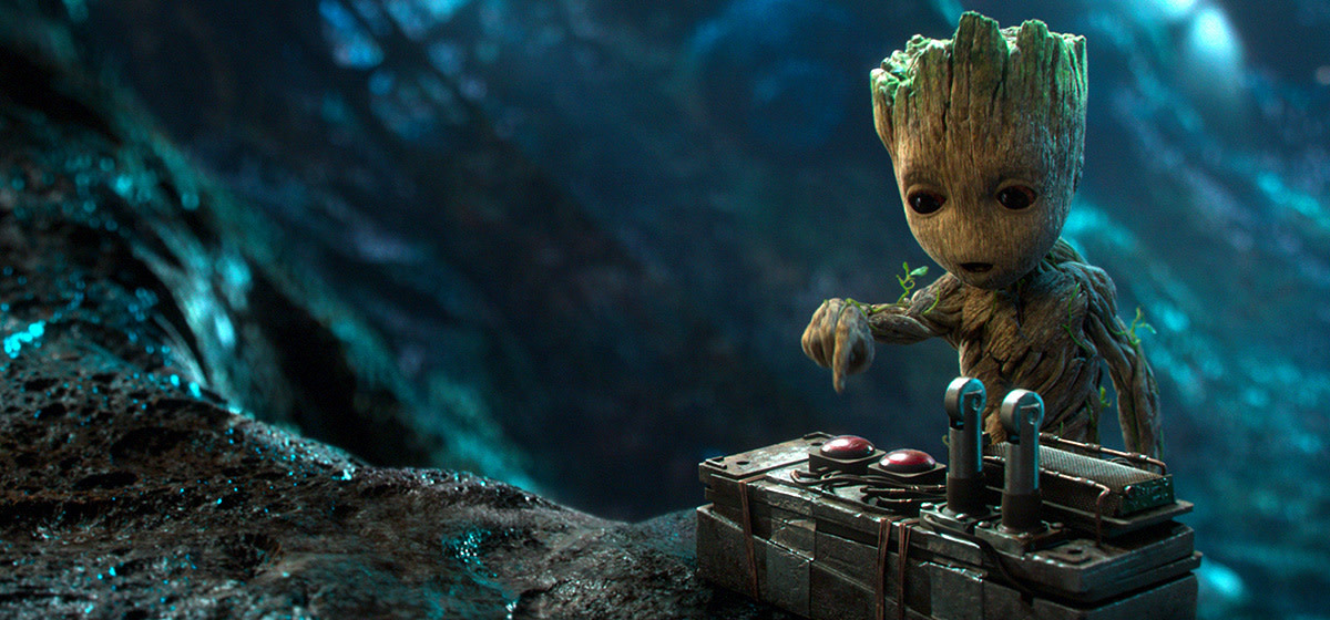 "Vin Diesel voices Baby Groot in ""Guardians of the Galaxy Vol. 2."""