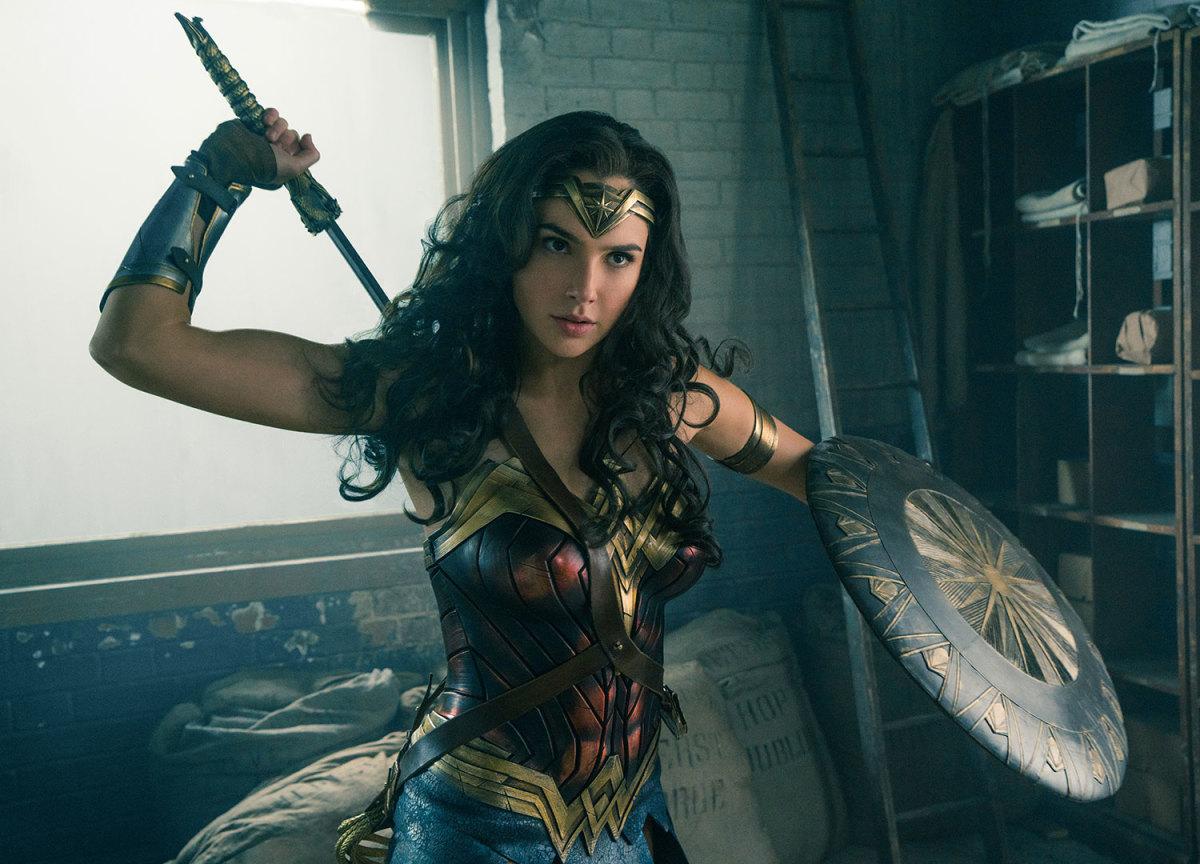 "Gal Gadot as Diana/Wonder Woman in ""Wonder Woman."""