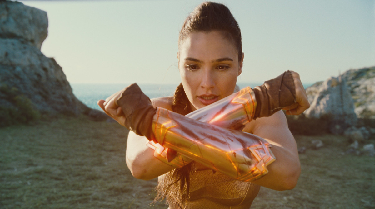 "Gal Gadot as Diana in ""Wonder Woman."""