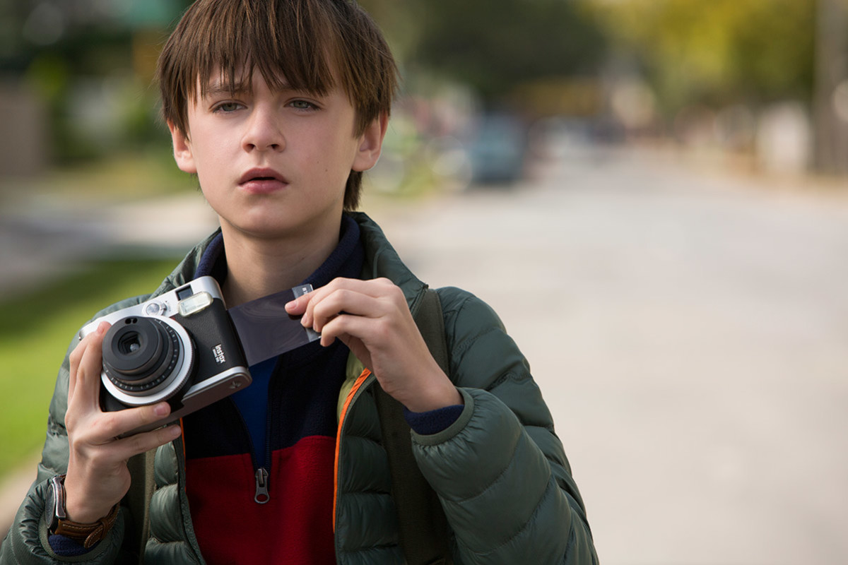 "Jaeden Lieberher as Henry Carpenter in ""The Book of Henry."""