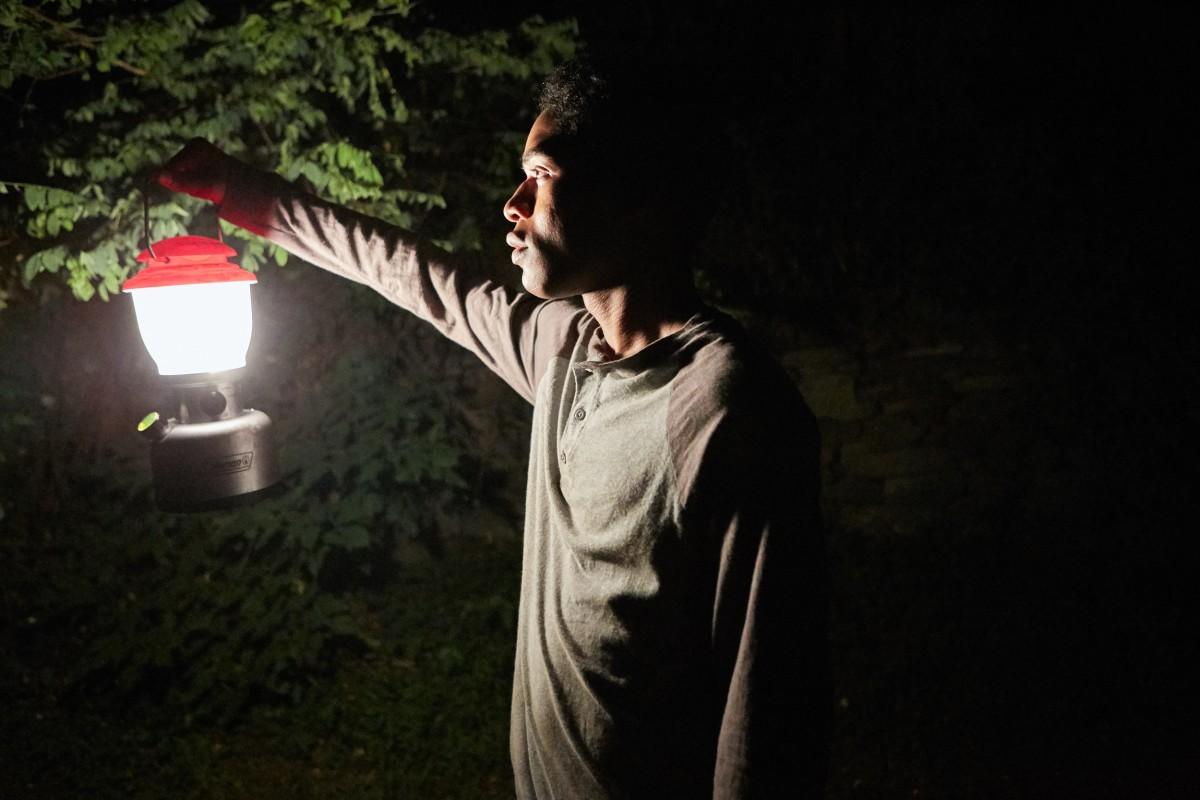 """Kelvin Harrison Jr as Travis in """"It Comes at Night."""""""