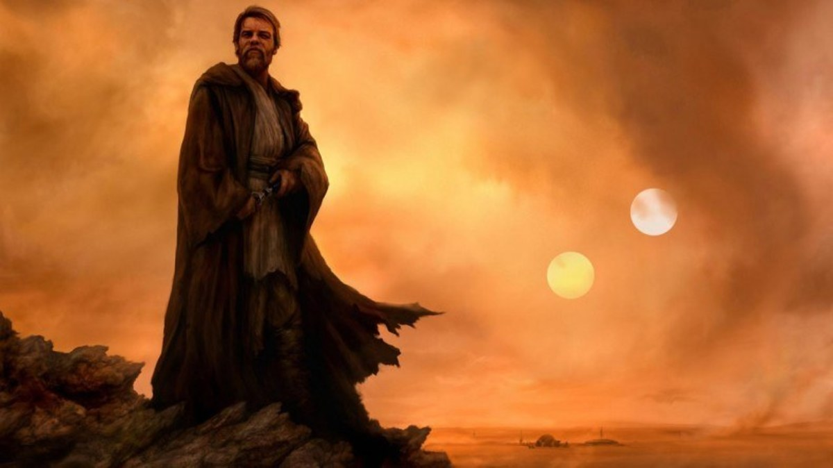 Obi-Wan on Tatooine
