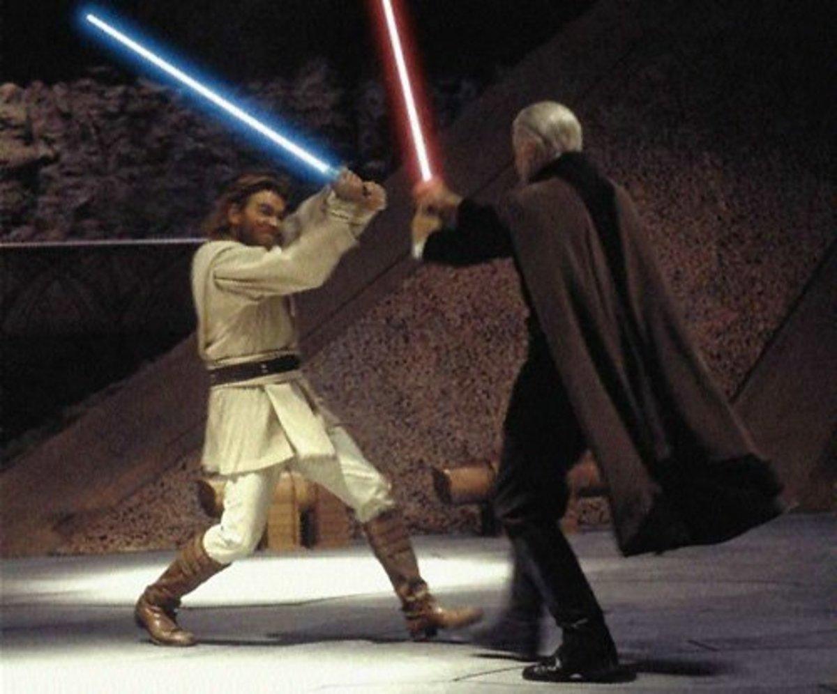 Obi-Wan Vs. Count Dooku