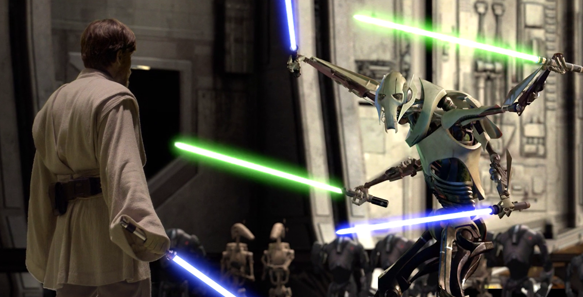 Obi-Wan Vs. General Grievous