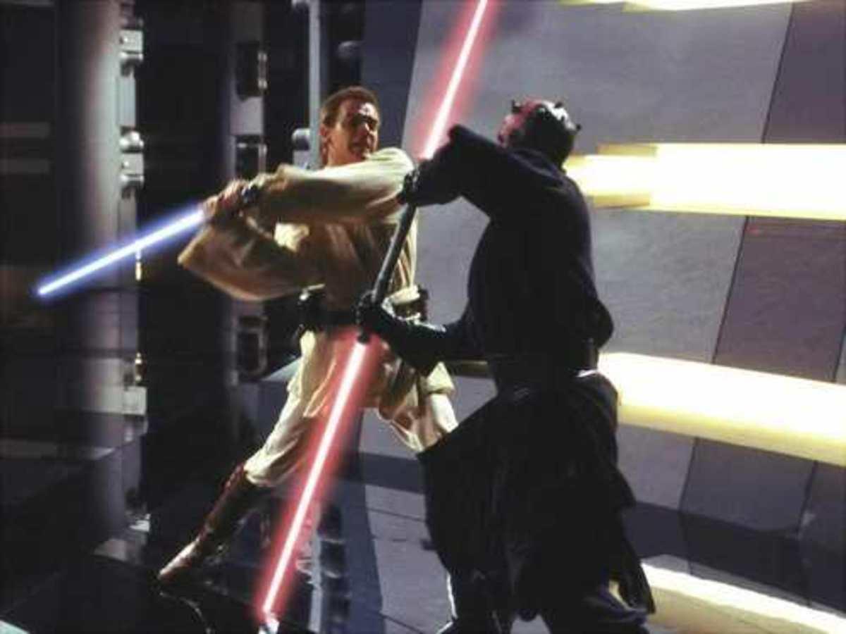 Obi-Wan Vs. Darth Maul