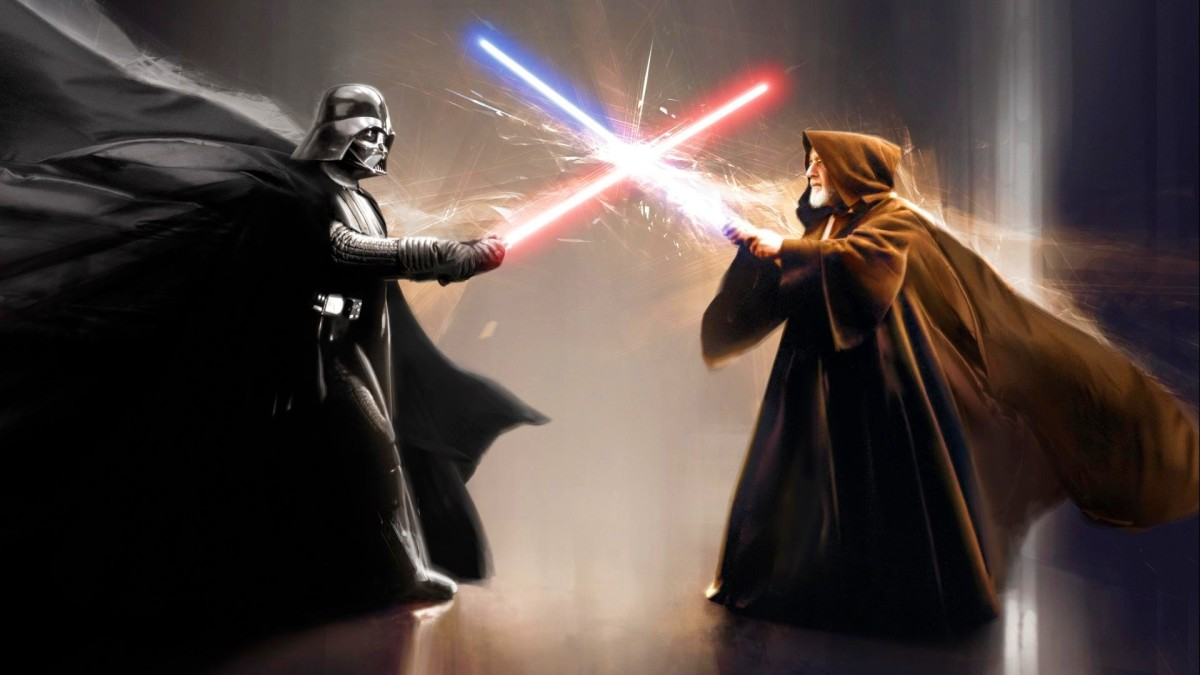 Darth Vader Vs. Obi-Wan (Episode 4)