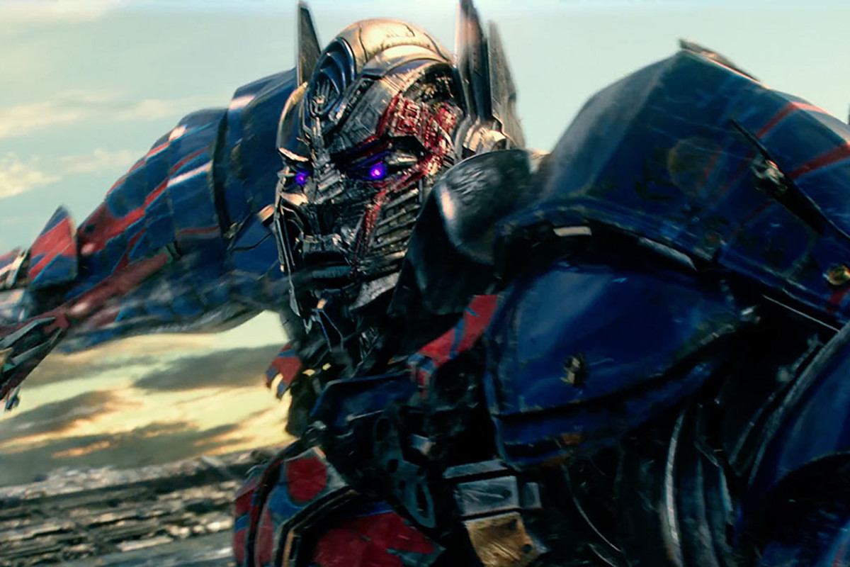 "Peter Cullen continues to voice Optimus Prime in ""Transformers: The Last Knight."""