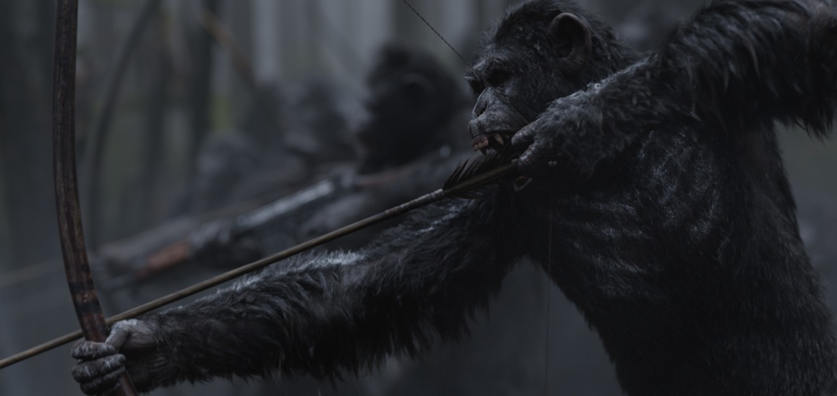 "A scene from director Matt Reeves ""War for the Planet of the Apes."""
