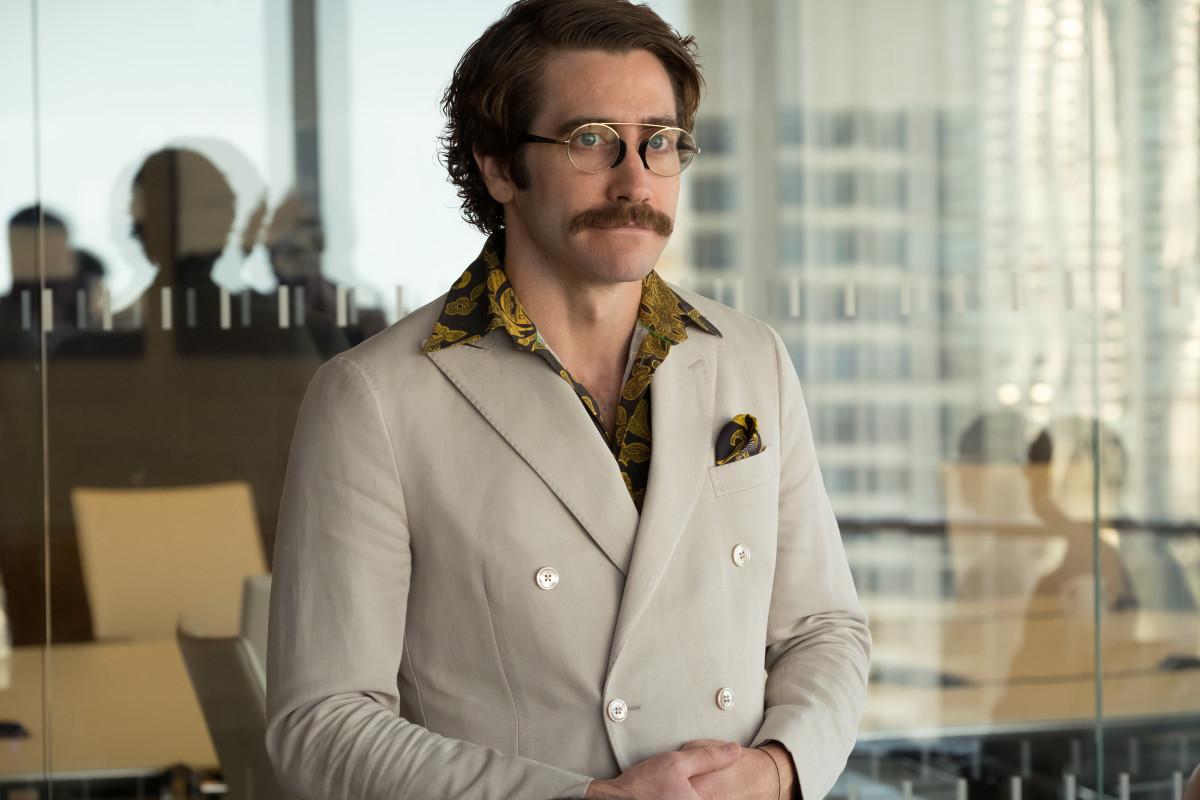 "Jake Gyllenhaal as Johnny Wilcox in ""Okja."""