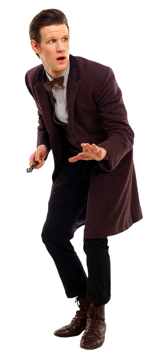 "Matt Smith as ""The Eleventh Doctor"""