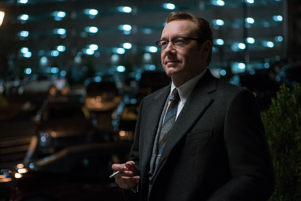 "Kevin Spacey as Doc in ""Baby Driver."""