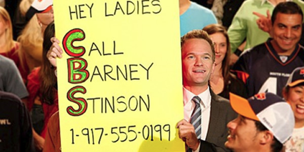 Barney desperately seeking women