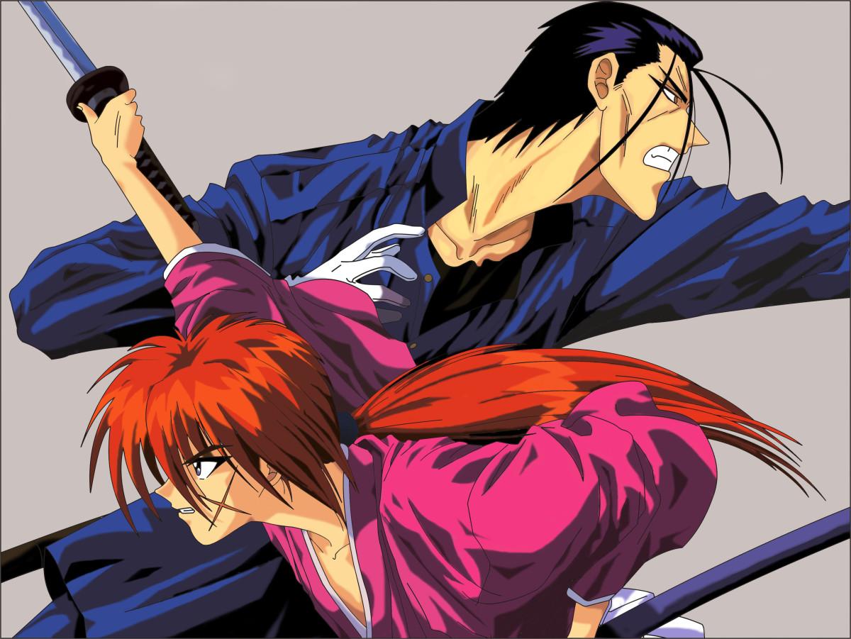 Kenshin and Saito