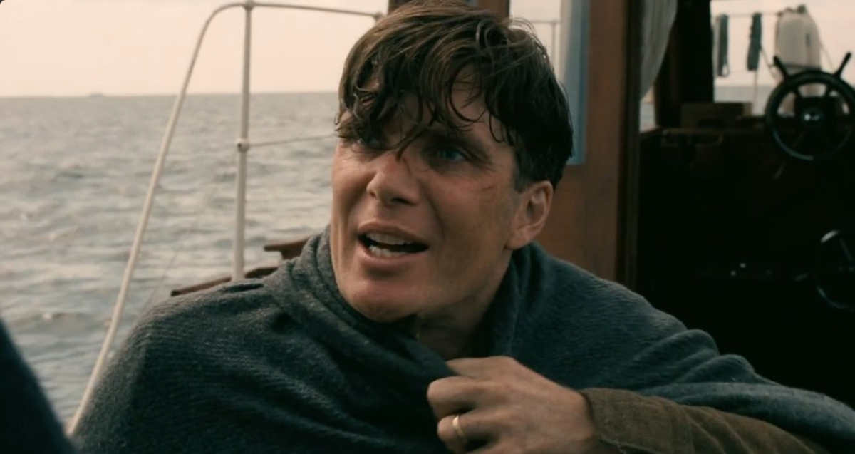 Cillian Murphy playing a traumatised British soldier
