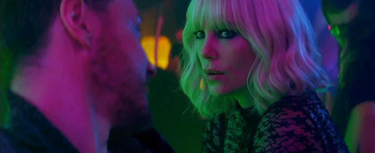 "David Percival (James McAvoy) and Lorraine Broughton (Charlize Theron) reluctantly work together in ""Atomic Blonde."""