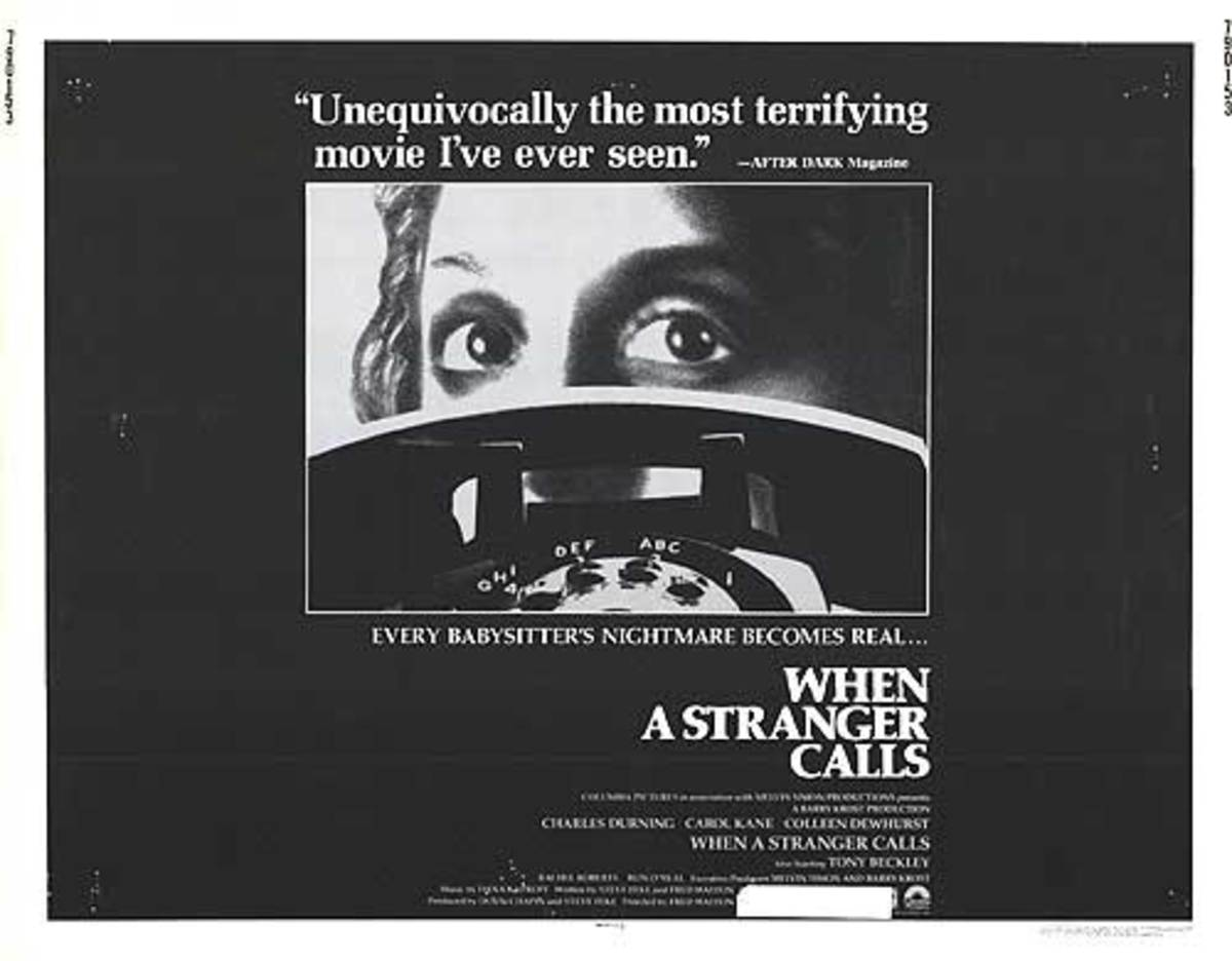 The 1979 poster for the original movie When a Stranger Calls
