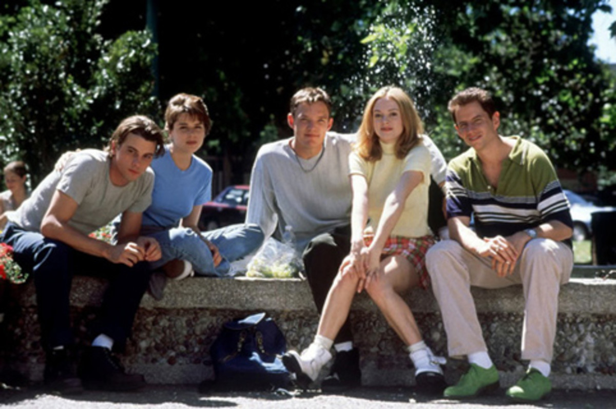 The cast of Scream