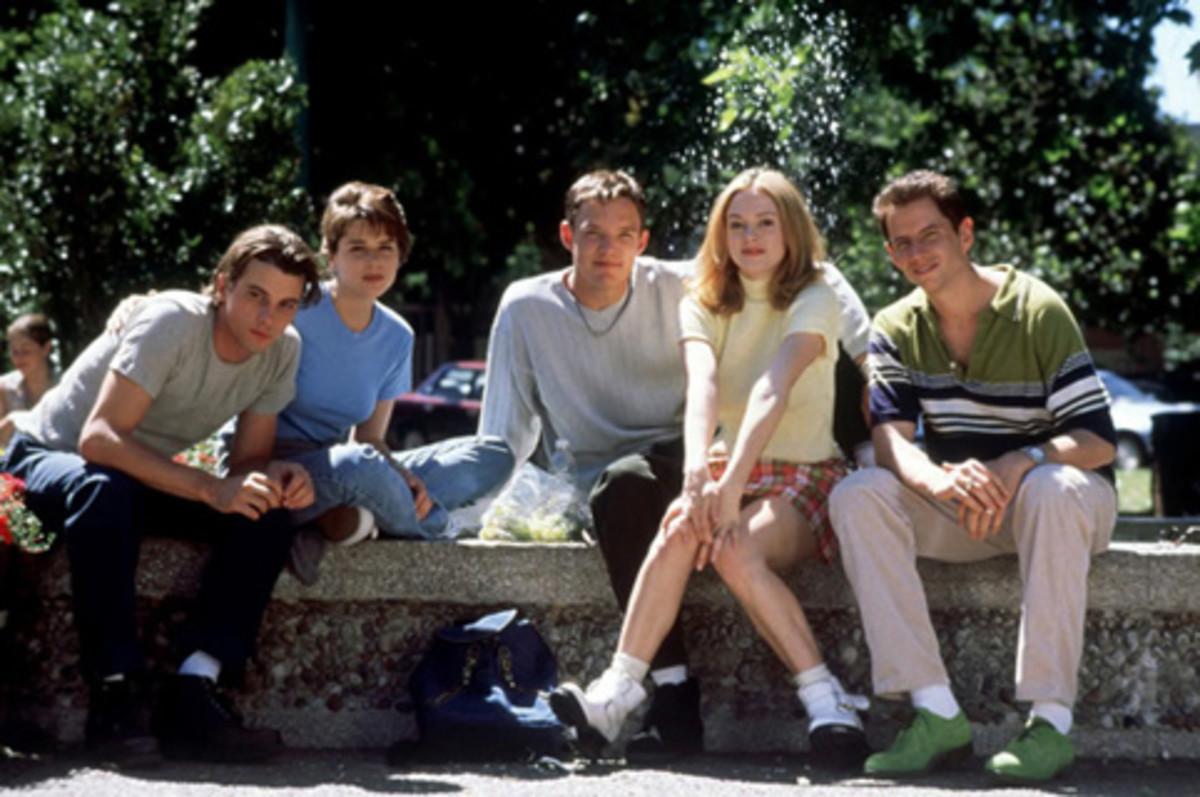 The cast of Scream