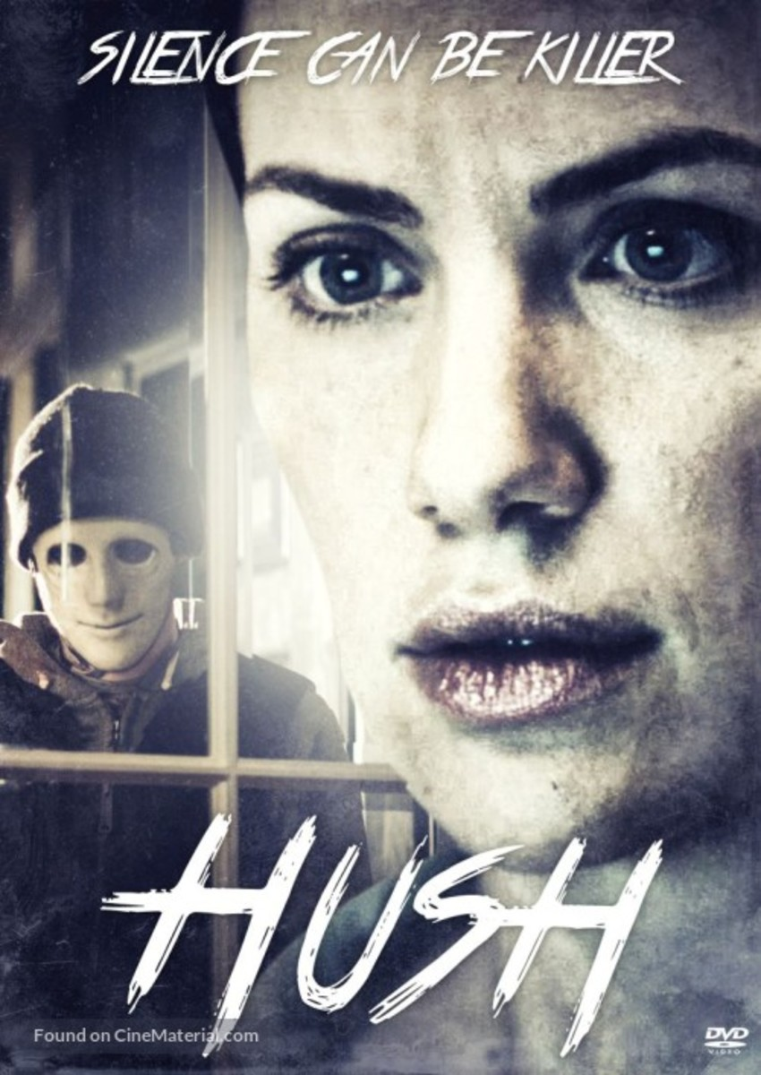 Home inasion movies, one of the best is Hush.