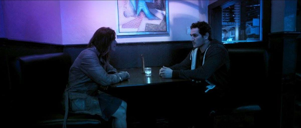 """Caleigh Le Grand and Francesco Filice as Amy and Shaun in """"Broken Mile.:"""