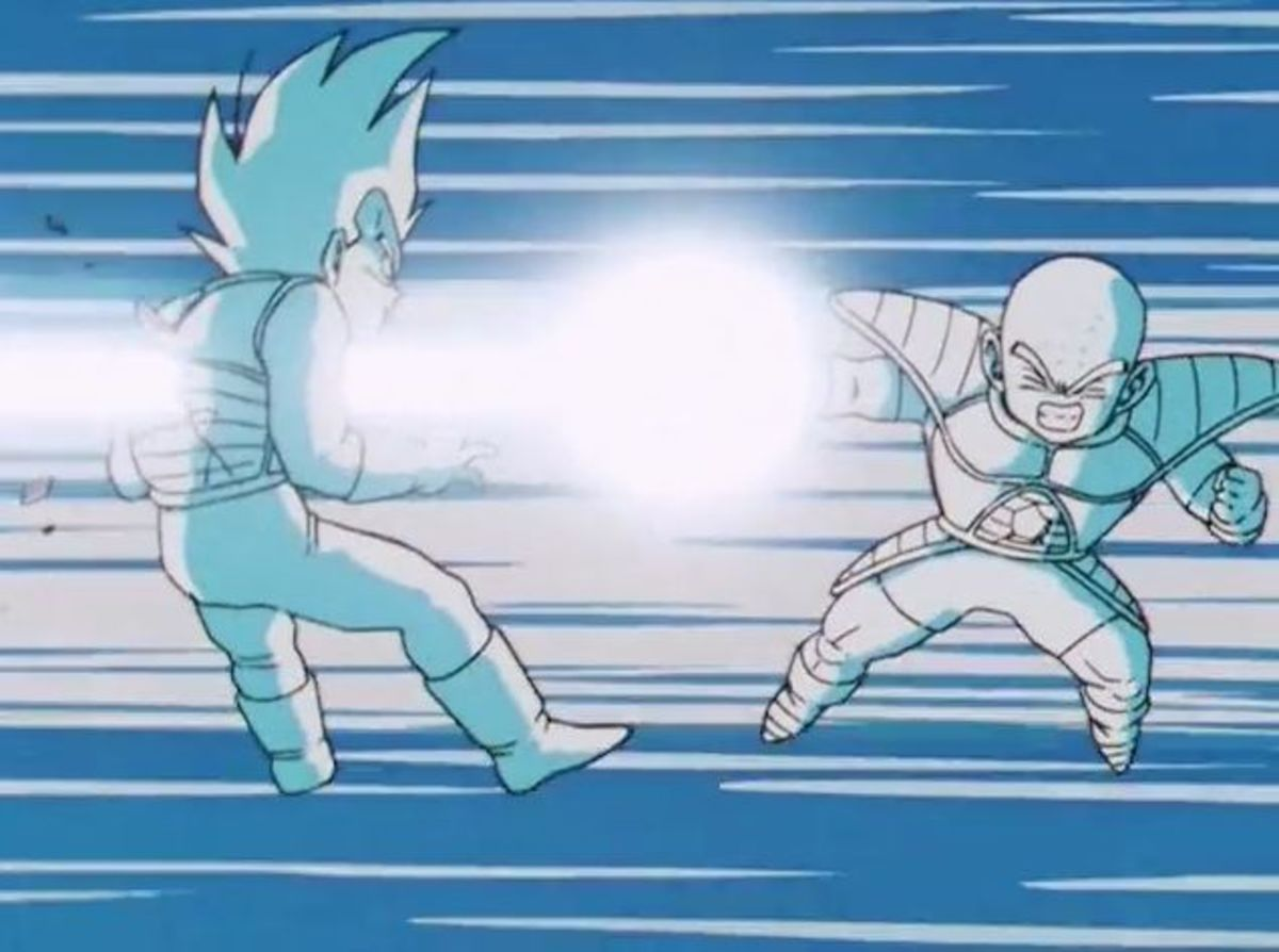 Vegeta has Krillin impale him with ki
