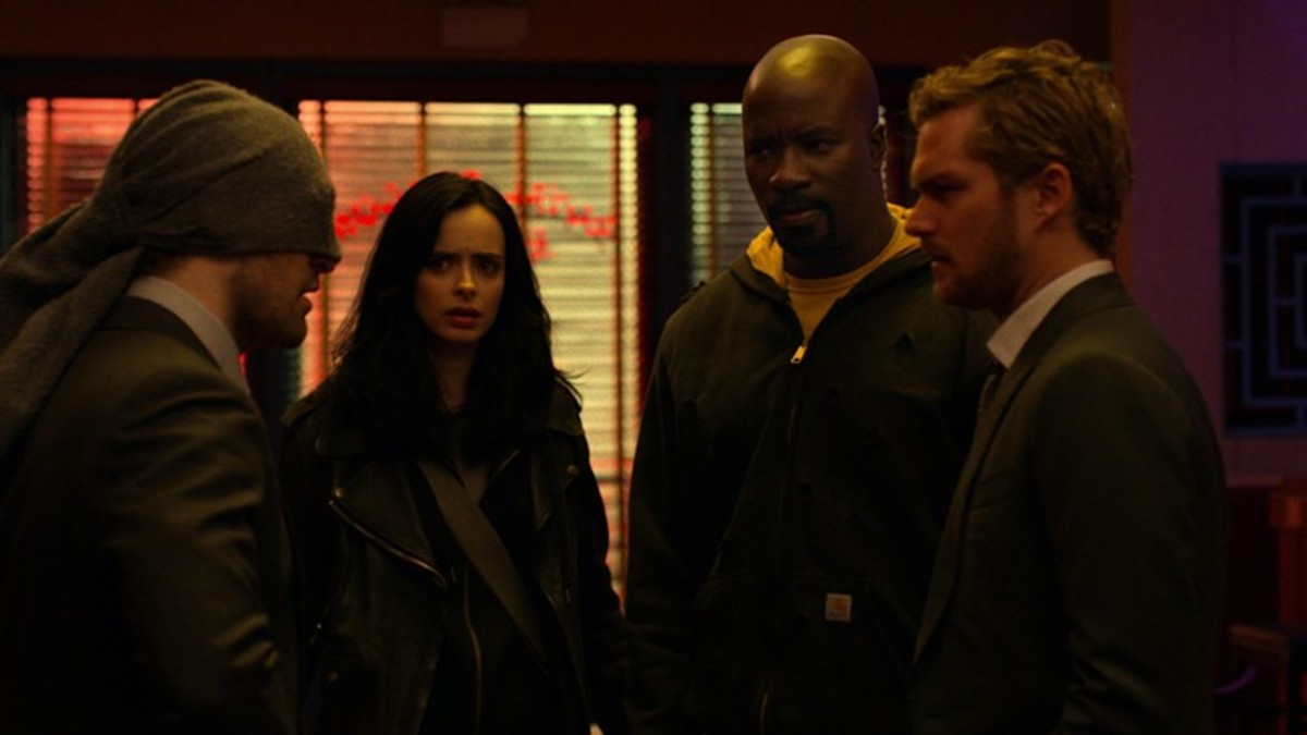 The Defenders get to know one another