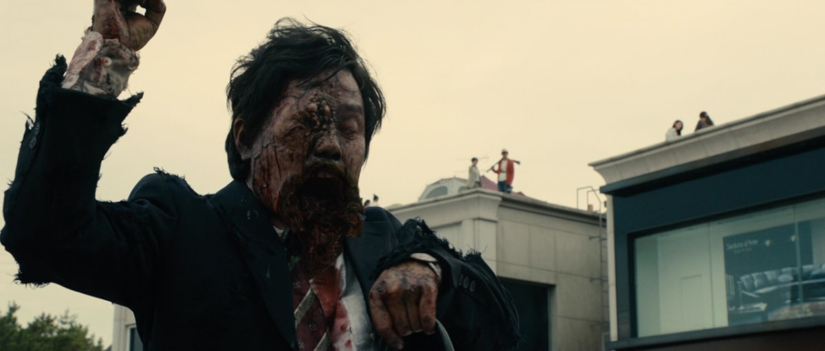 These zombies have that familiarity that westerners are used to with some added melty-ness. #IamAHero #JapaneseHorror #NewHorror