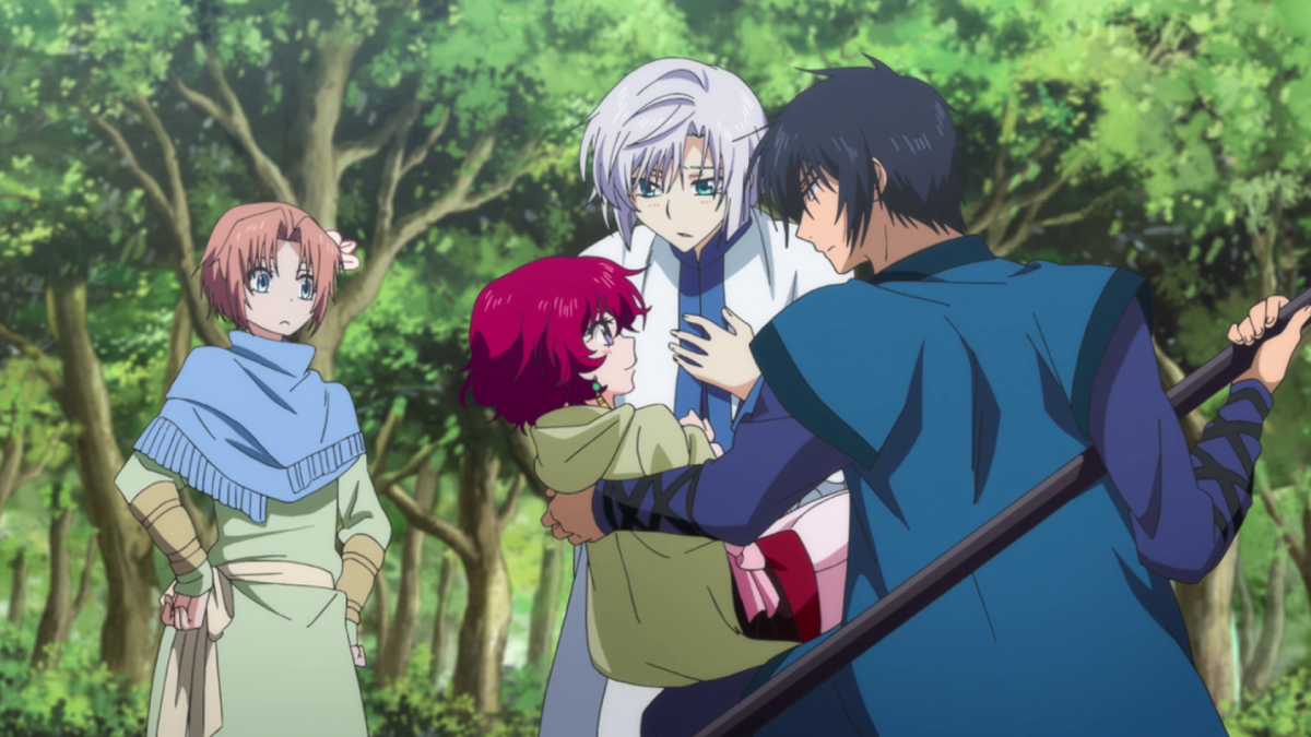 Yoon, Ki-ja, and Hak just can't help but dote on their resident princess.