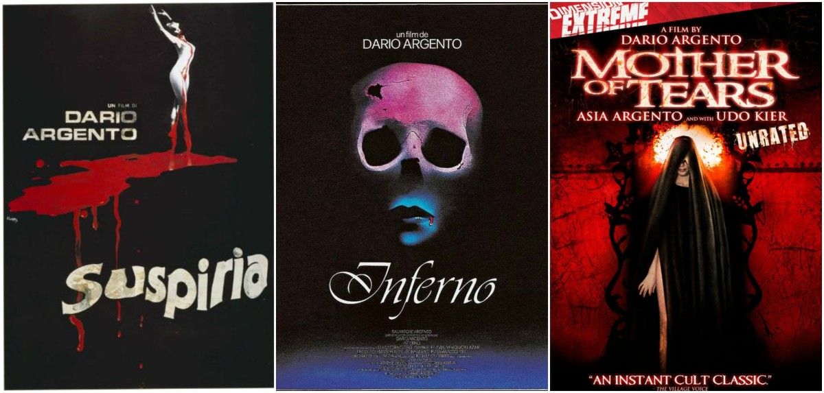 """Suspiria"" is the first film in Argento's so called ""Three Mothers"" trilogy, which also includes ""Inferno"" (1980) and ""Mother of Tears"" (2007)."