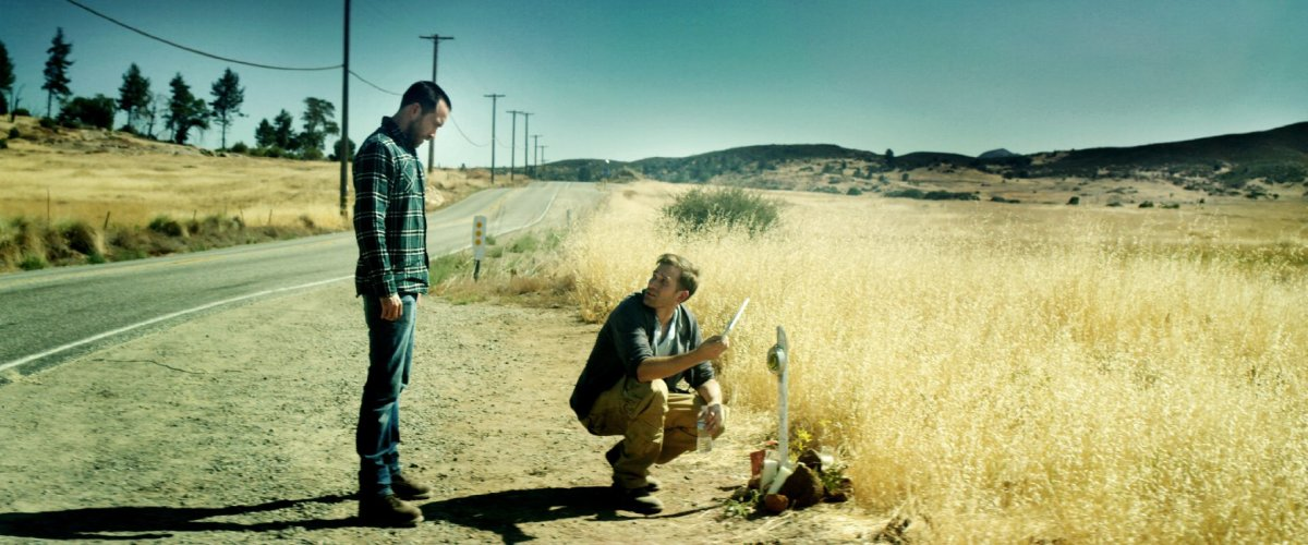 "Justin Benson and Aaron Moorhead in ""The Endless."""