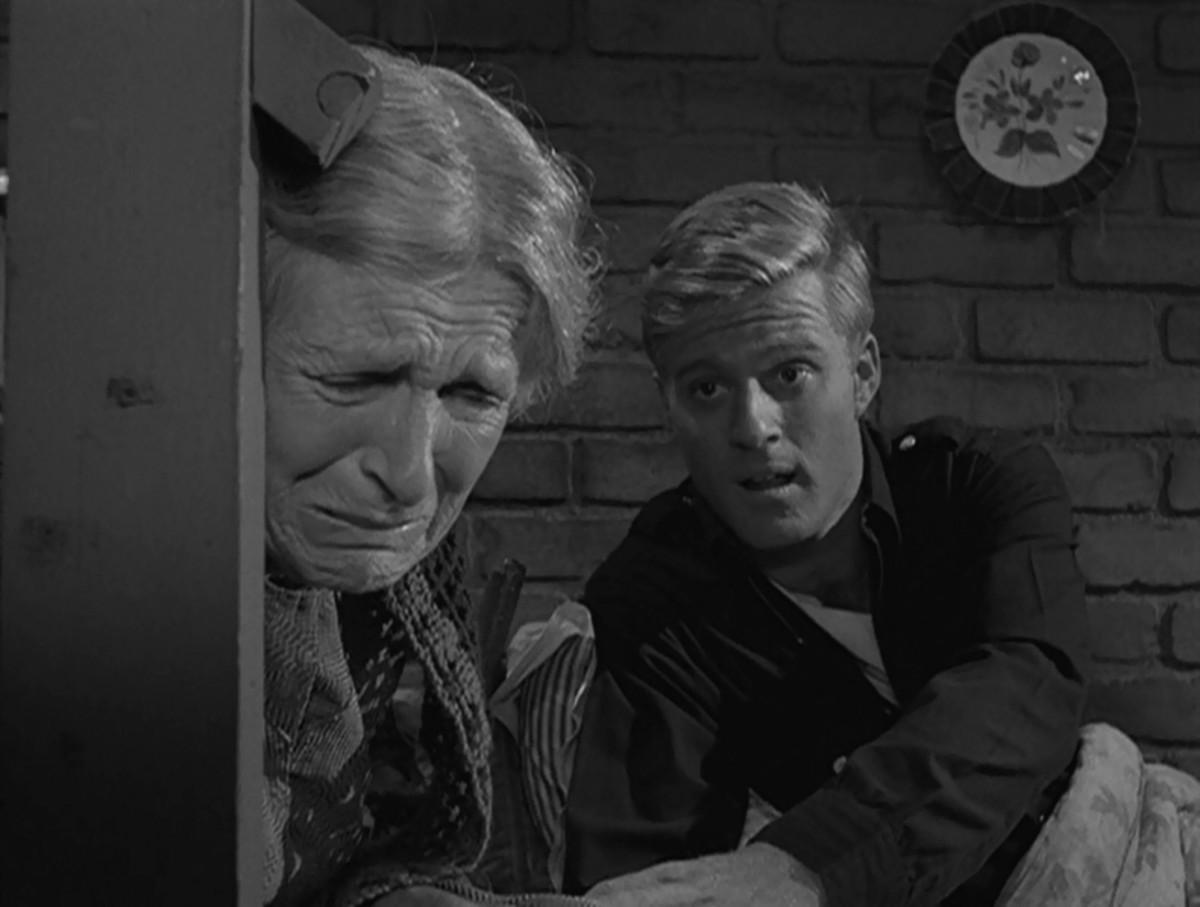 """Robert Redford in """"Nothing in the Dark."""""""