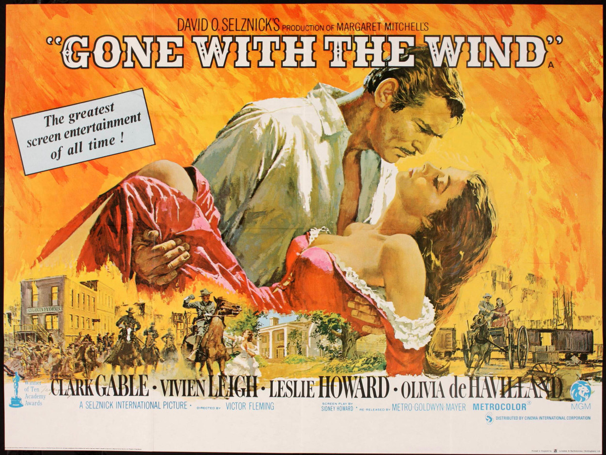 Off-screen, the Gone With The Wind cast members were some of Hollywood's most daring and sexually active movie stars.