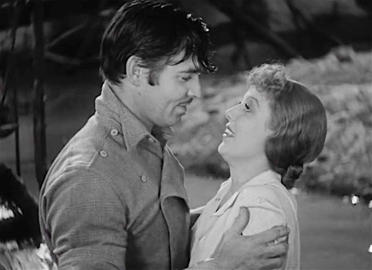 After filming 1935's The Call of the Wild, Clark Gable and Loretta Young will have a secret love child.