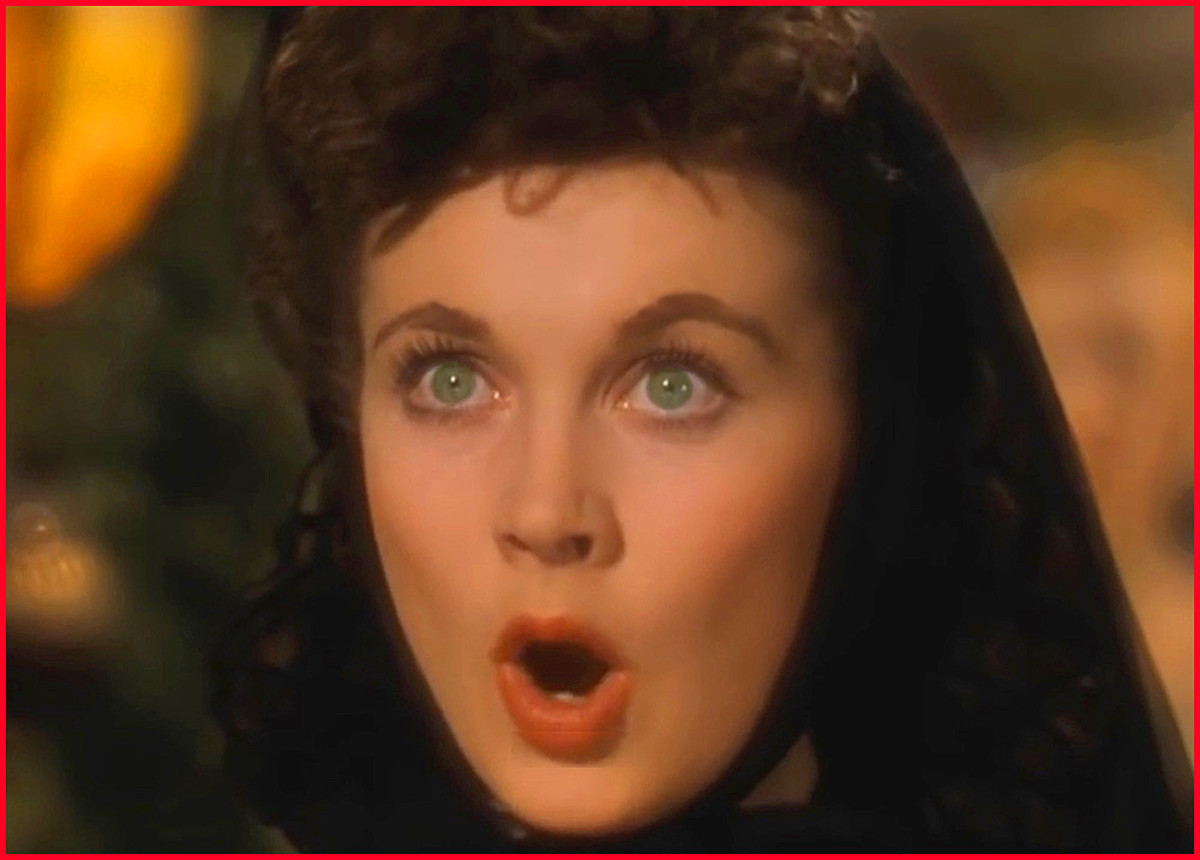 """Vivien Leigh was the perfect Scarlett O'Hara in """"Gone with the Wind,"""" and won a Best Actress Oscar for her portrayal."""