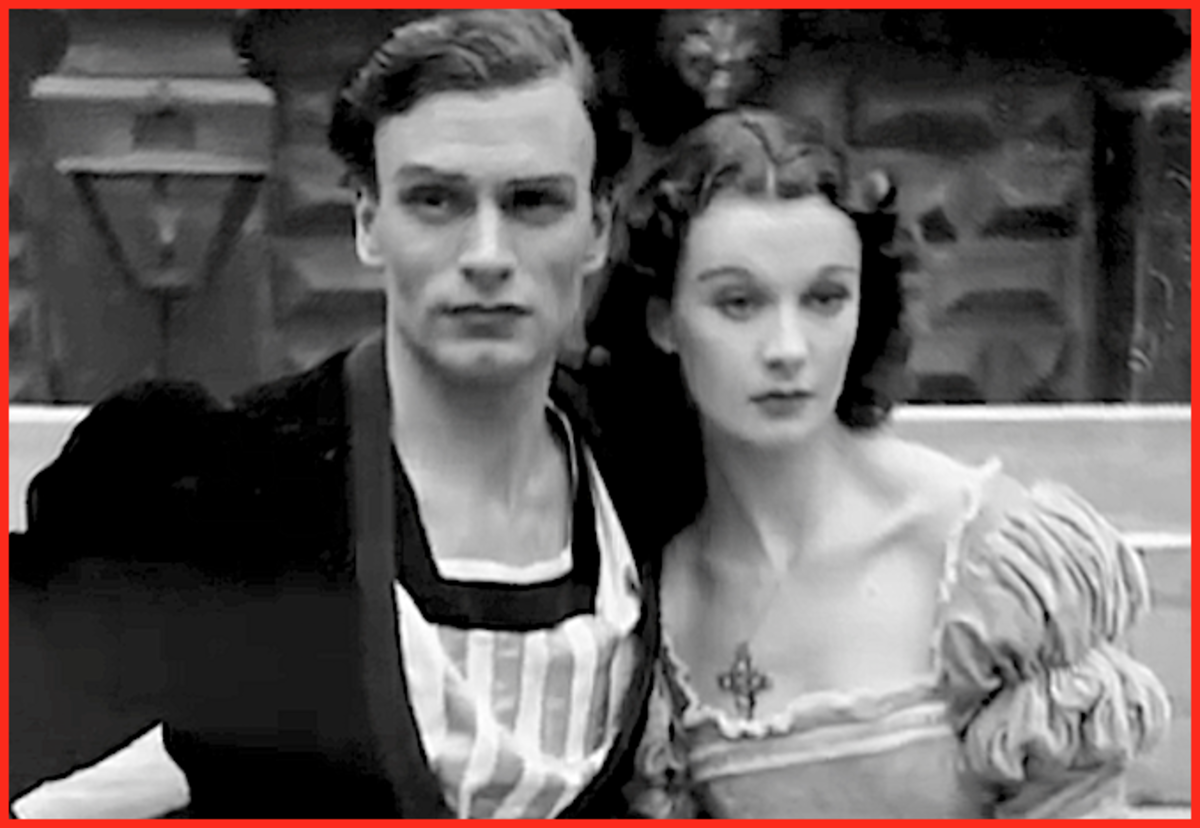 Vivien Leigh and the love-of-her-life Sir Laurence Olivier began an affair in 1937.  Both were married, but their spouses refused to grant divorces, so the couple quietly began living together.
