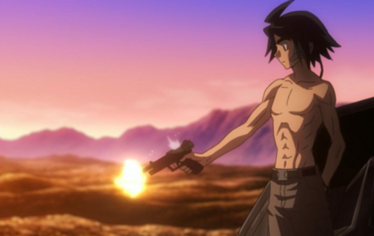 What we see is Mikazuki's favorite hobby!