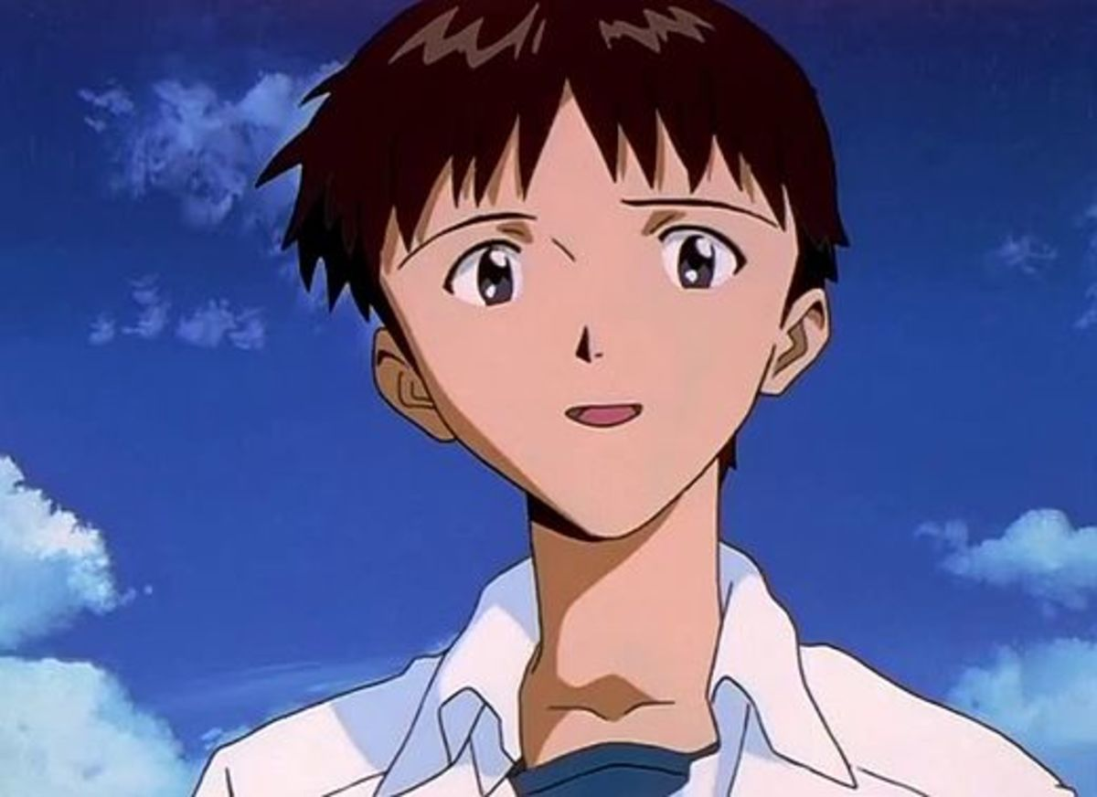 Shinji comes to terms with wanting free will. Congratulations Shinji, you've decided to grow up!