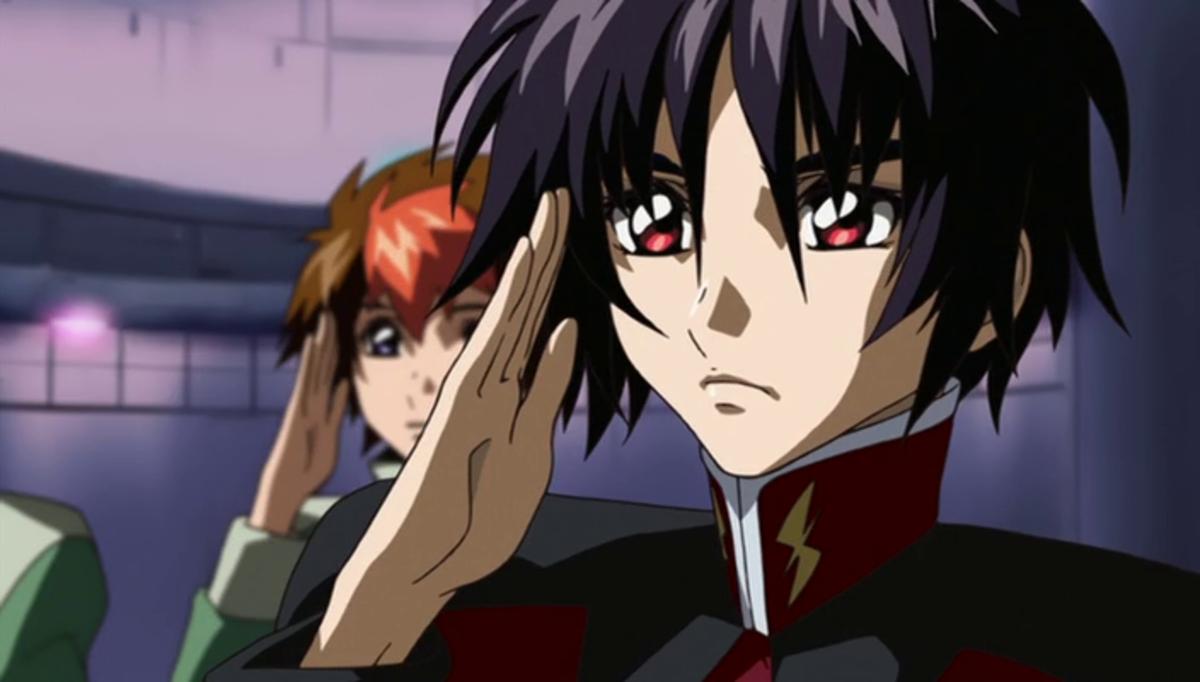 Shinn Asuka as a ZAFT soldier.