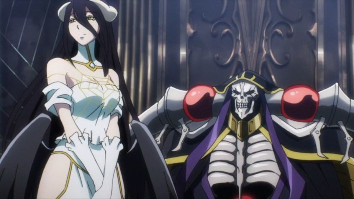 Looking at this picture really makes you feel for Lord Ainz's predicament.