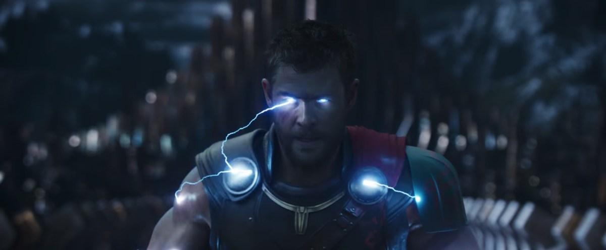 Chris Hemsworth as Marvel's God of Thunder
