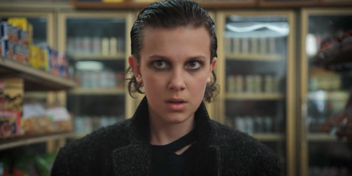 Eleven/Jane played by Millie Bobby Brown
