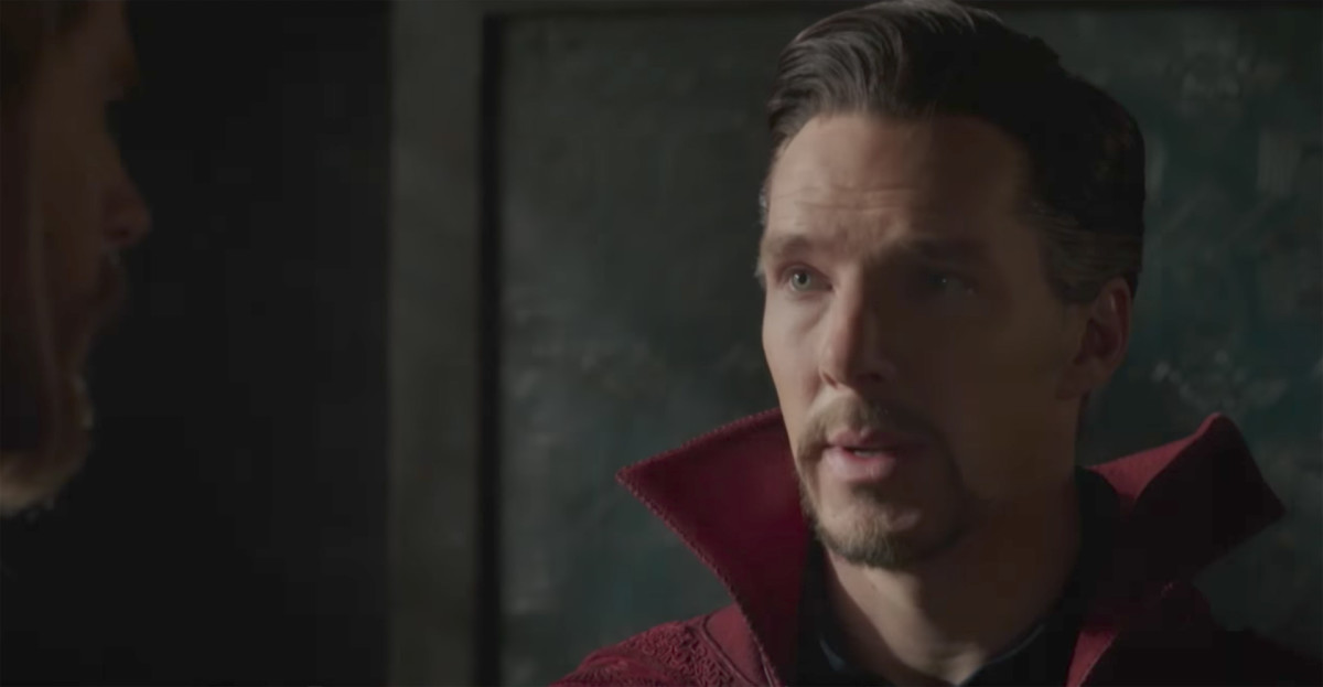 Benedict Cumberbatch as Dr. Strange