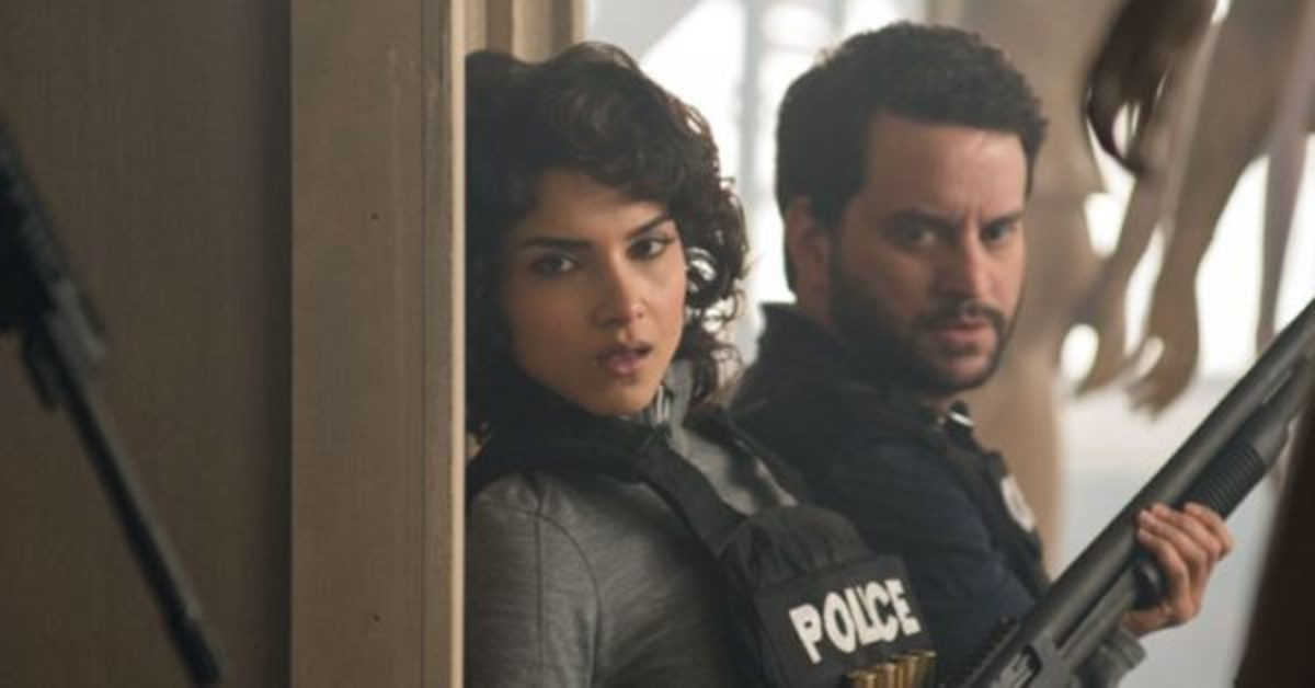 Revah's Dina Madani (left) alongwith Nathanson as Sam Stein