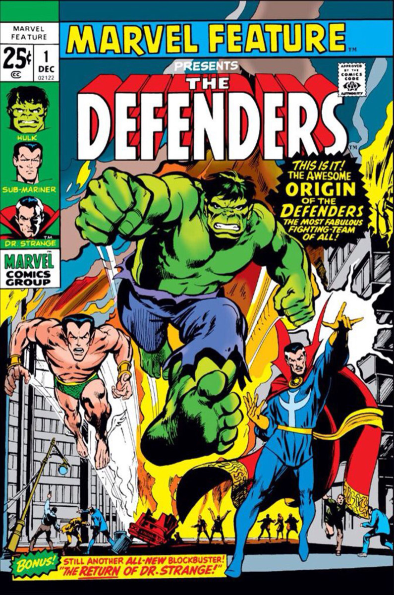 The Original Three: Namor, The Hulk, and Doctor Strange