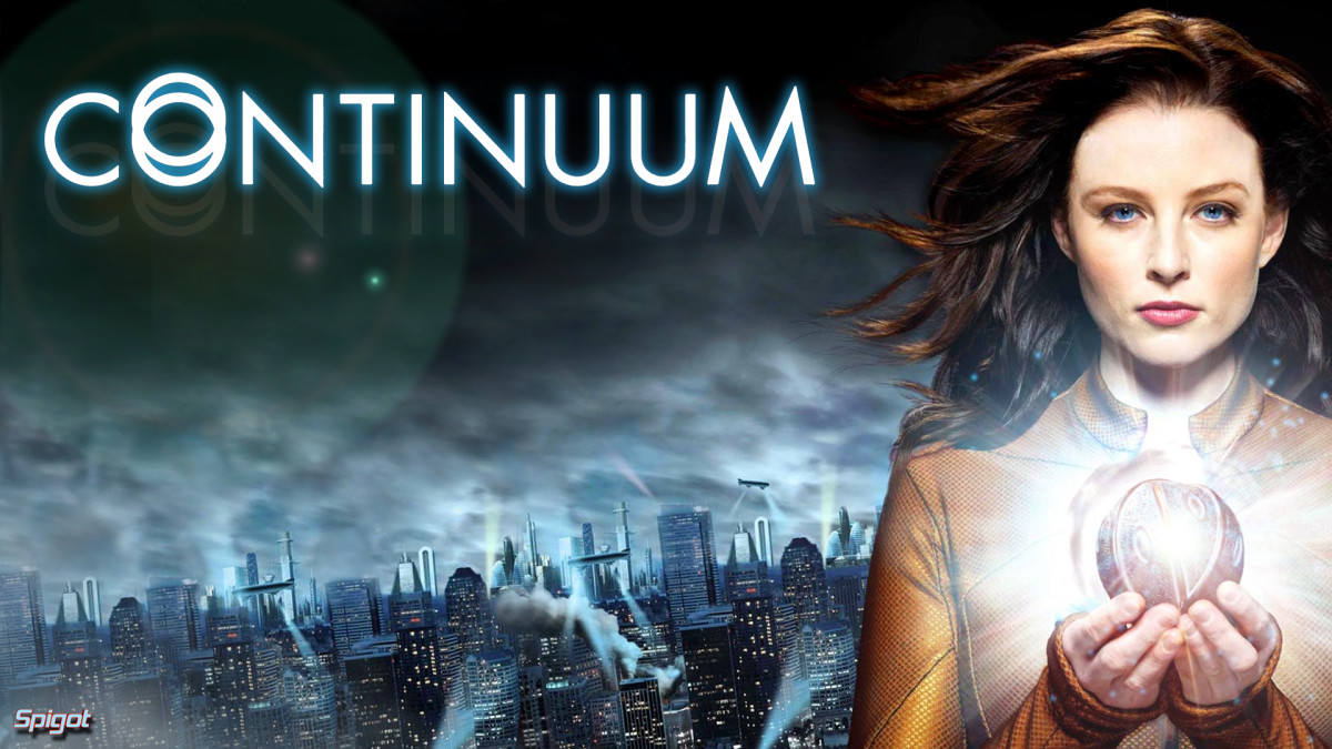 Continuum is a time travel show that brings the future to us.