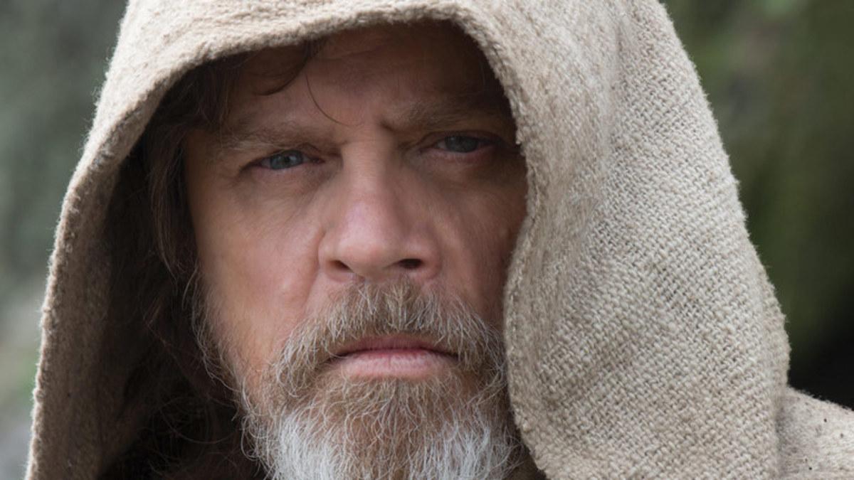 Luke in The Force Awakens